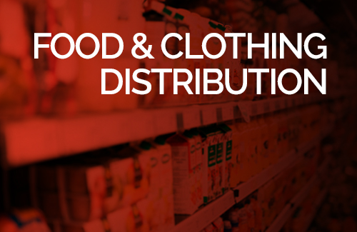 Food & Clothing Distribution from BRCOH